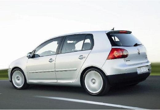 VOLKSWAGEN Golf V hatchback silver grey tylny lewy