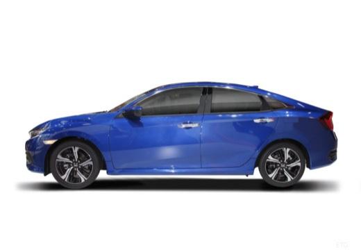 HONDA Civic sedan boczny lewy