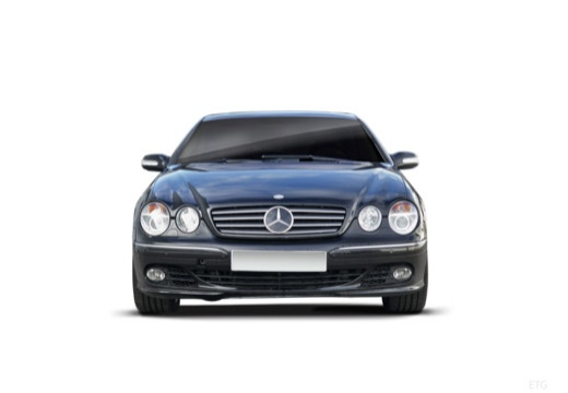 MERCEDES-BENZ Klasa CL coupe przedni