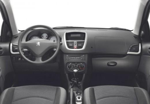 PEUGEOT 206+ I hatchback niebieski jasny tablica rozdzielcza