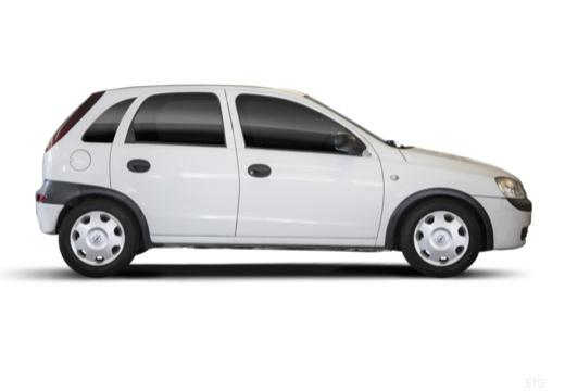 OPEL Corsa C II hatchback biały boczny prawy