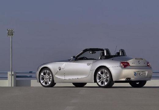 BMW Z4 E85 II roadster silver grey tylny lewy
