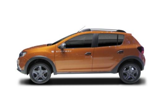 DACIA Sandero III hatchback boczny lewy