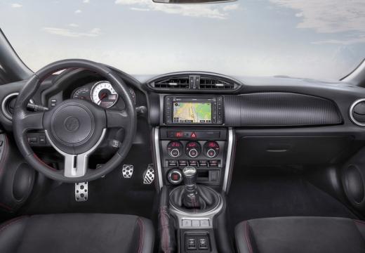 Toyota GT86 coupe tablica rozdzielcza