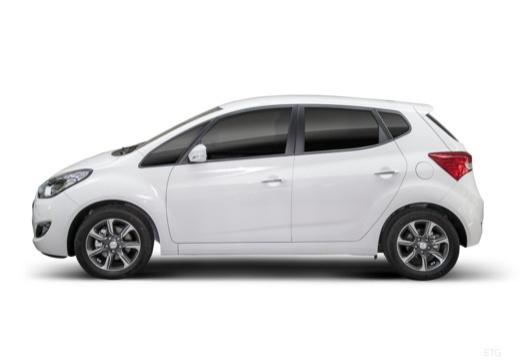 HYUNDAI ix20 II hatchback biały boczny lewy