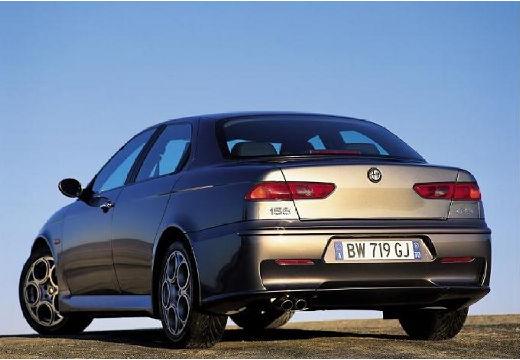 ALFA ROMEO 156 III sedan szary ciemny tylny lewy