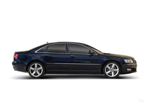 AUDI A8 4E II sedan boczny prawy