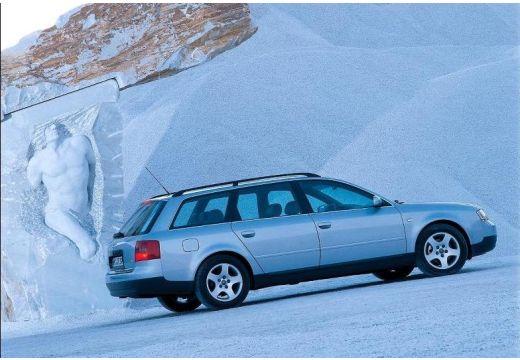 AUDI A6 /S6 Avant 4B I kombi silver grey tylny prawy