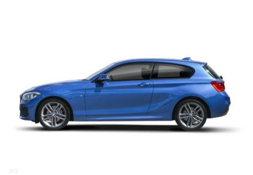 BMW Seria 1 F21 II hatchback boczny lewy