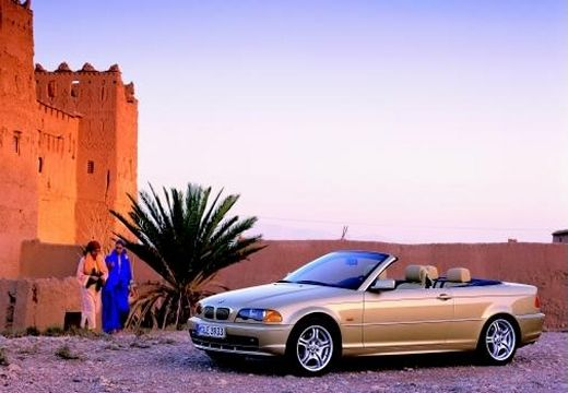 BMW Seria 3 kabriolet przedni lewy