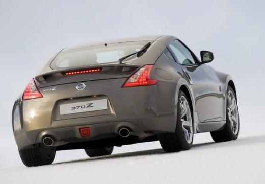 NISSAN 370 Z I coupe silver grey tylny prawy
