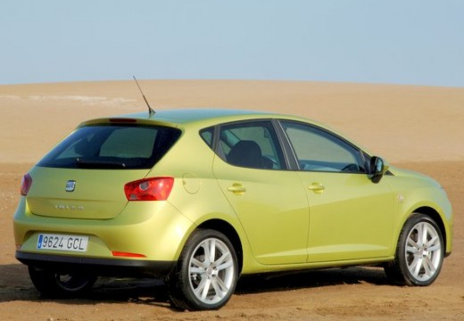 SEAT Ibiza V hatchback zielony tylny prawy