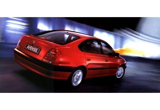 Toyota Avensis Liftback I hatchback czerwony jasny tylny prawy