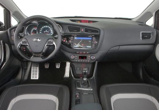 KIA Ceed III hatchback tablica rozdzielcza