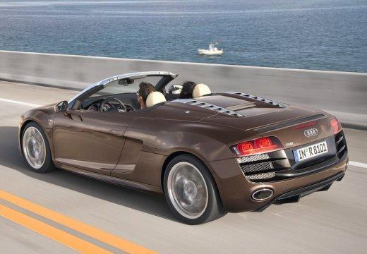 AUDI R8 roadster brązowy tylny lewy