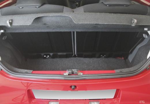 Toyota Aygo II hatchback przestrzeń załadunkowa