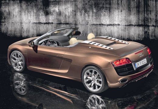 AUDI R8 Spyder I roadster brązowy tylny lewy
