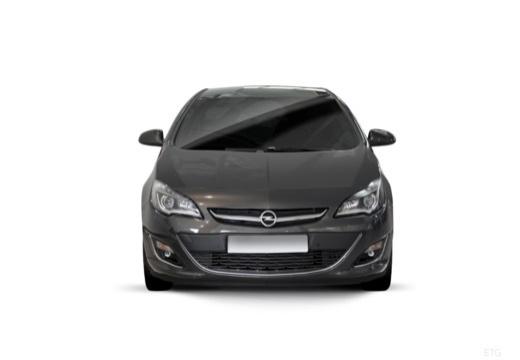 OPEL Astra IV II hatchback czarny przedni