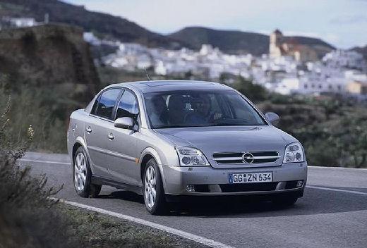 OPEL Vectra C I sedan silver grey przedni prawy
