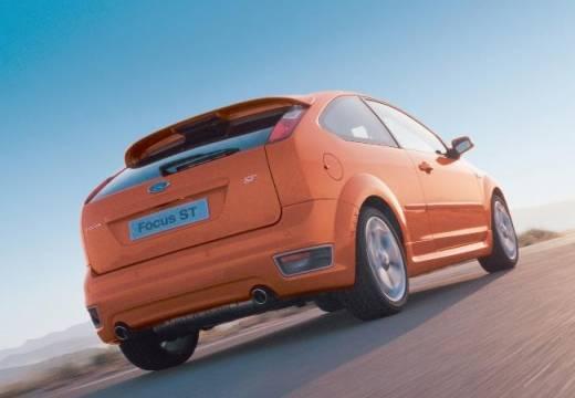 FORD Focus III hatchback pomarańczowy tylny prawy