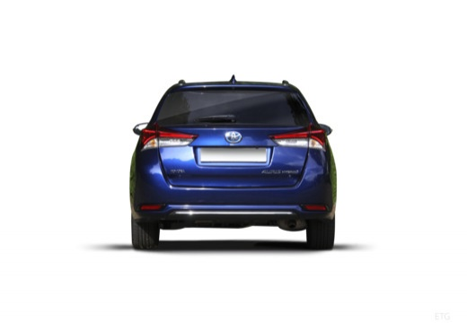 Toyota Auris TS II kombi niebieski jasny tylny