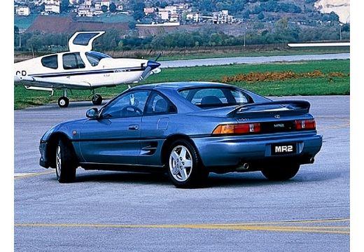 Toyota MR2 I coupe niebieski jasny tylny lewy