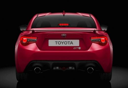 Toyota GT86 coupe czerwony jasny przedni