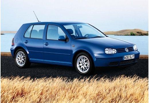 VOLKSWAGEN Golf IV hatchback niebieski jasny przedni prawy