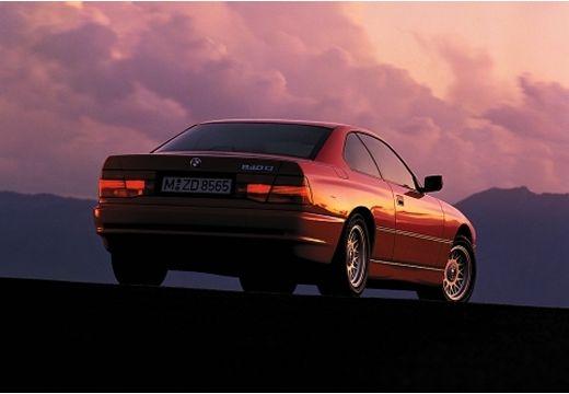 BMW Seria 8 coupe czerwony jasny tylny prawy