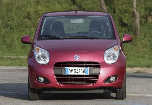 SUZUKI Alto IV hatchback czerwony jasny przedni prawy