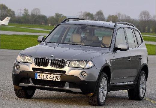 BMW X3 kombi szary ciemny przedni lewy