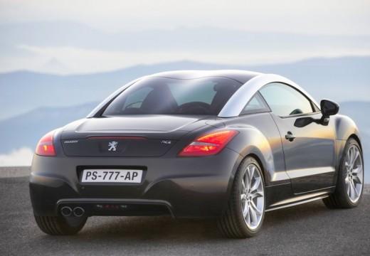 PEUGEOT RCZ coupe czarny tylny prawy