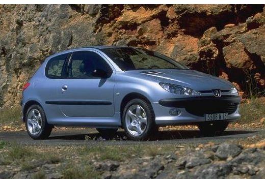 PEUGEOT 206 I hatchback silver grey przedni prawy