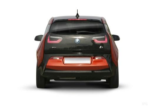 BMW i3 I01 I hatchback pomarańczowy tylny
