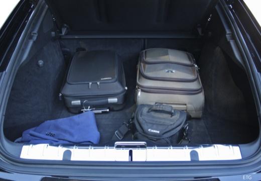 PORSCHE Panamera hatchback przestrzeń załadunkowa