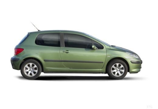 PEUGEOT 307 II hatchback boczny prawy