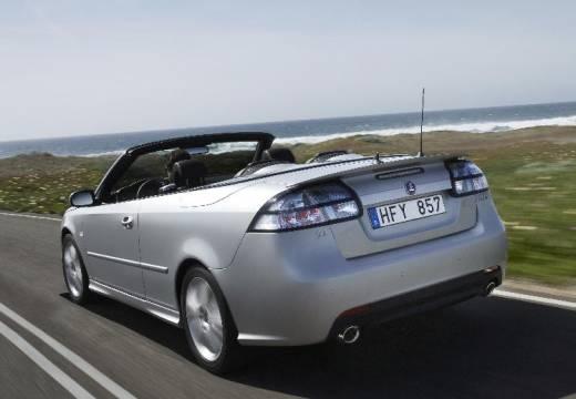 SAAB 9-3 Cabriolet III kabriolet silver grey tylny lewy