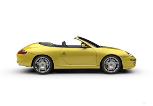 PORSCHE 911 Cabrio 997 kabriolet boczny prawy