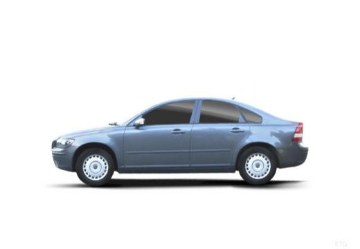 VOLVO S40 IV sedan niebieski jasny boczny lewy