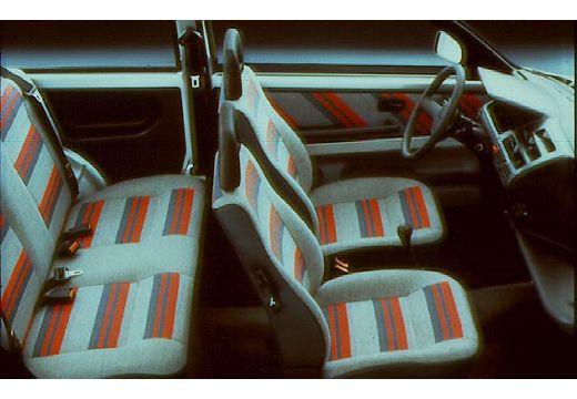 FIAT Cinquecento hatchback wnętrze