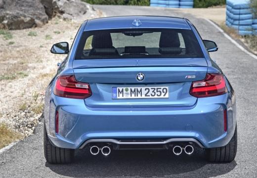 BMW Seria 2 F22 I coupe niebieski jasny tylny