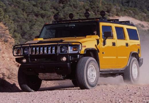 HUMMER H2 I kombi żółty przedni lewy