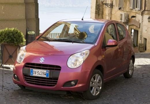 SUZUKI Alto IV hatchback czerwony jasny przedni lewy