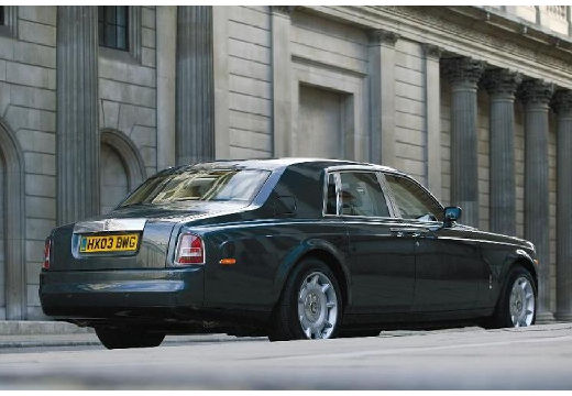 ROLLS-ROYCE Phantom I sedan silver grey tylny prawy