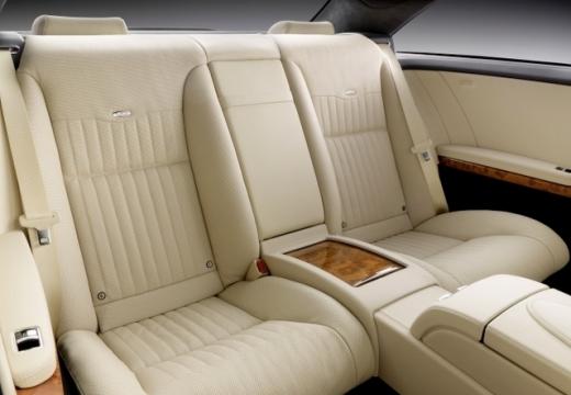 MERCEDES-BENZ Klasa CL coupe wnętrze