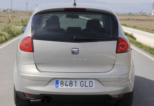 SEAT Altea hatchback silver grey tylny