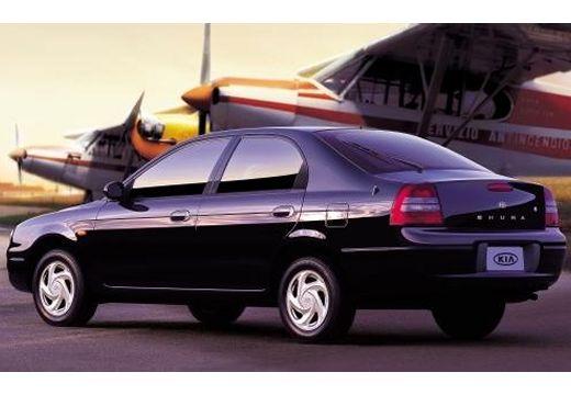KIA Shuma hatchback czarny tylny lewy