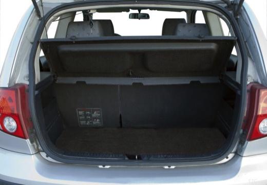 HYUNDAI Getz hatchback przestrzeń załadunkowa
