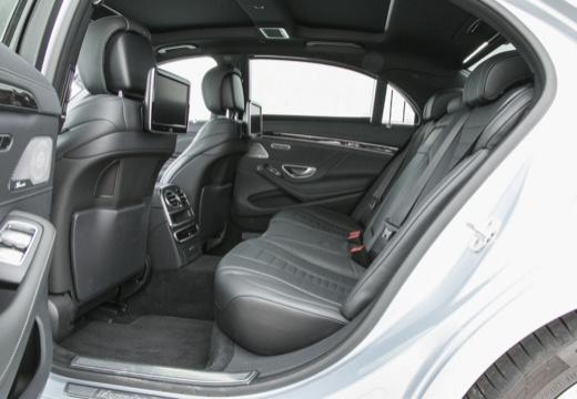 MERCEDES-BENZ Klasa S sedan wnętrze