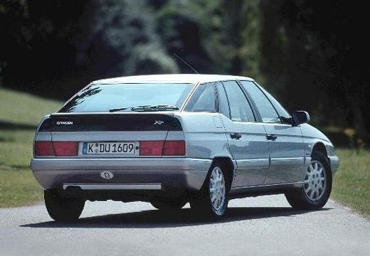 CITROEN XM II hatchback silver grey tylny prawy